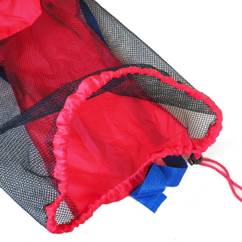 Portable Beach Bag Foldable Mesh Swimming Bag For Children Beach Toy Baskets Storage Bag Kids Outdoor Swimming Waterproof Bags 4