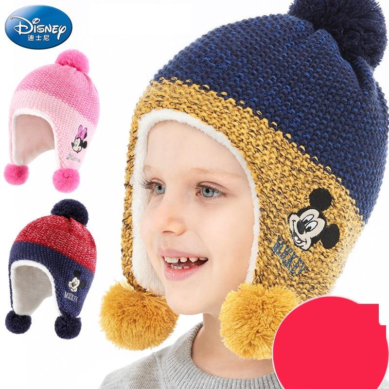цена на Disney children hat mickey mouse cap fashion cartoon kids hat outdoor wear cotton Adjustable breathable Visor Shade Baseball cap