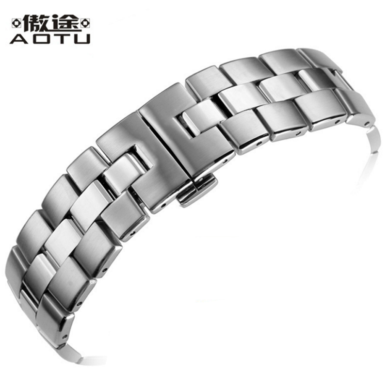 Stainless Steel Watchbands For Tissot 1853 T076 417 Sport Series Men Watch Bracelet 21mm Top Quality Watch Straps Clock Belt купить недорого в Москве