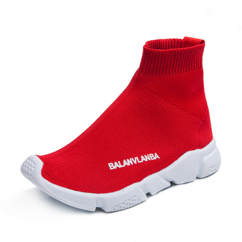 Mudibear Children Shoes Boys Casual Socks Shoes 2018 New Kids High Sleeve Sports Sneakers Girls Students Outdoor Tennis Sneakers