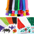 100pcs/Set Chenille Stems Colorful Sticks DIY Educational Toys For Kids Child