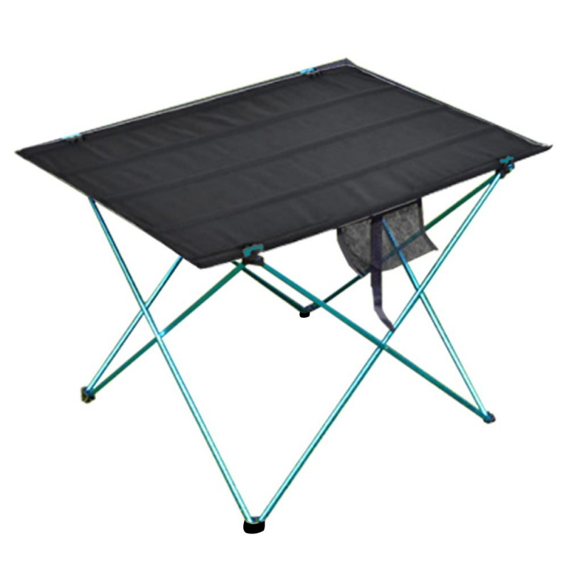 Table pliante Portable pliable bureau Camping pique-nique en plein air en alliage d'aluminium table à manger extérieure ultra-légère - 2