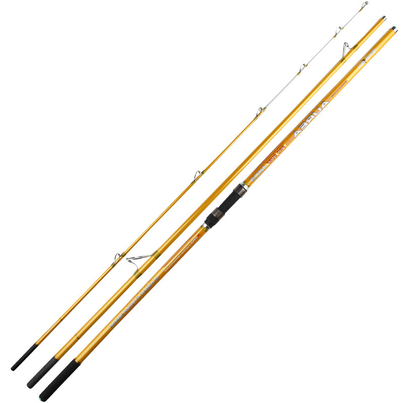 4.2M 3sections high carbon surf rod beach long casting far shot distance throwing rod fishing tackle GAN047 4 0m sk sic guides 150g lure weight telescopic casting fishing rod beach long shot distance throwing carbon rod fishing tackle