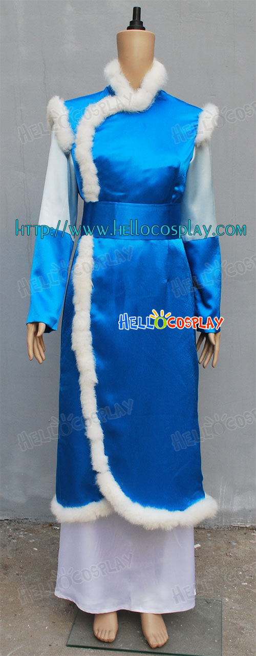 Katara Cosplay Costume From Avatar The Last Airbender H008