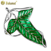 cosplay Hobbit Jewelry Brooch Leaves shape Elf Men And Retro trendy