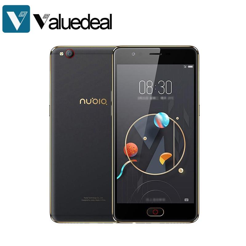 Original Nubia M2 Lite Android 6.0 5.5 Inch HD 3GB RAM 64GB ROM 16MP+13MP MT6750 Octa Core 4G LTE Smartphone