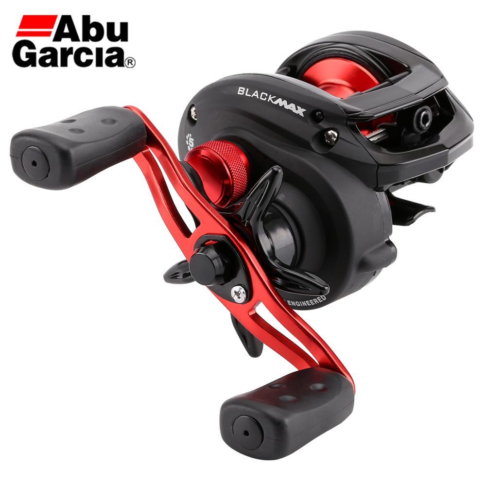 Abu Garcia Baitcasting Reel Black Max3 BMAX3 Right Left Hand Fishing Reels 5BB 6 4 1