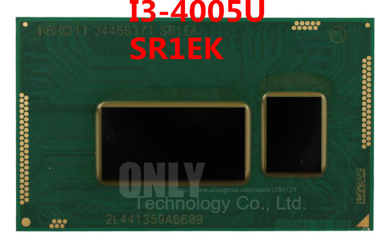 100% Brand New And Original Cpu I3-4005u Sr1ek I3 4005u Sr1ek 1.7g Bga Chips With Balls