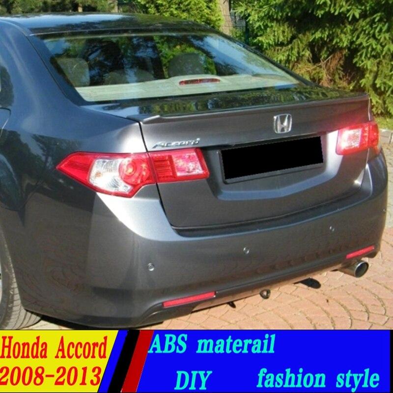 Exterior Parts Use For Honda Accord Lip Spoiler 2006-2007 Model Lip Spoiler High Quality Abs Material Car Rear Wing Primer Color Rear Spoiler