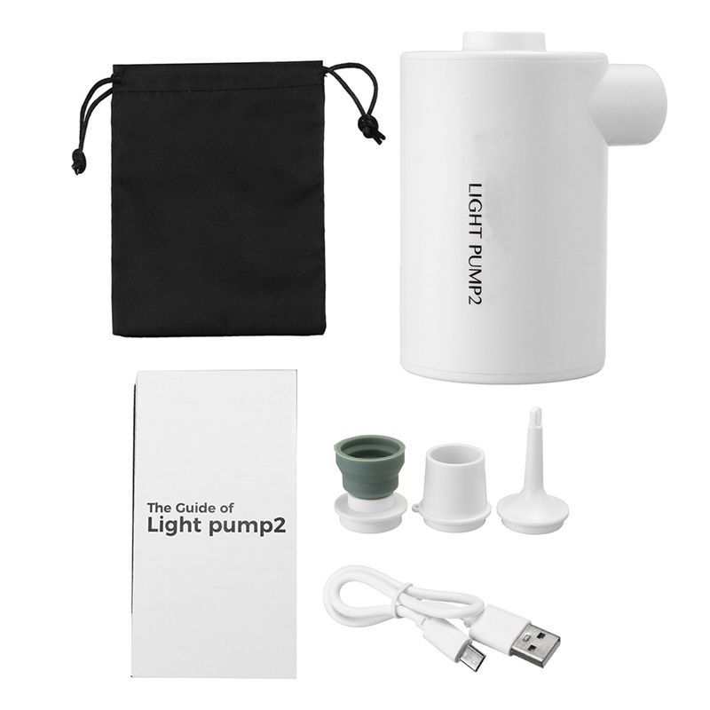 Outdoor Camping Usb Electric Air Pump Portable-Air-Pump  Waterproof Ultra Light Mini Pump Pool Air Cushion Sleeping