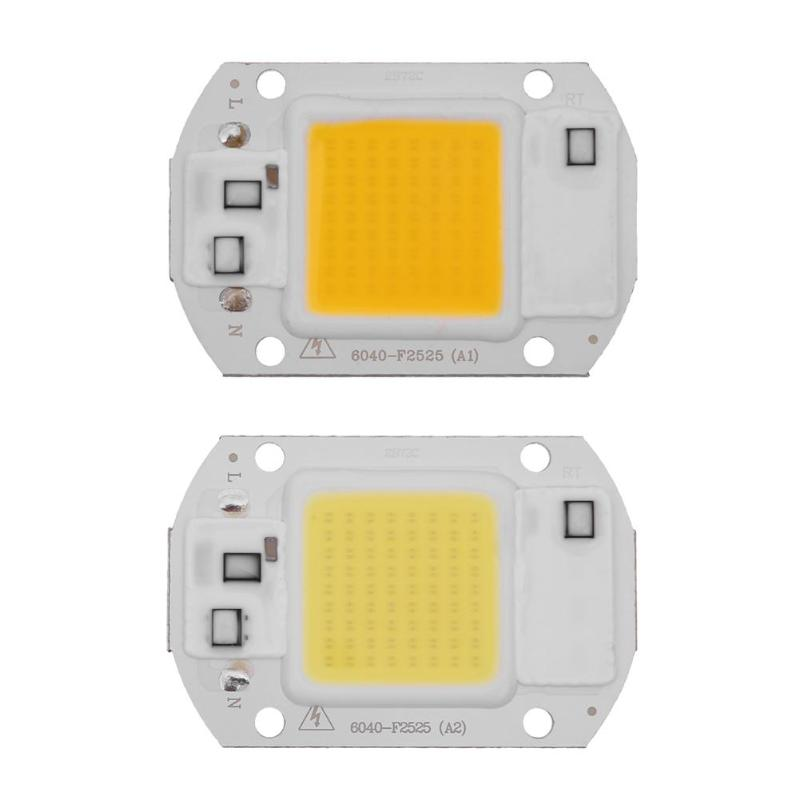 High Power 20w Ac110v Cob Led Lamp Diode Chip Smart Ic Driver Outdoor Waterproof Flood Spotlight Searchlight Light Bulbs