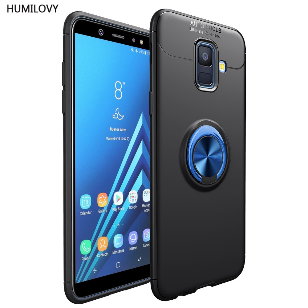 A6 2018 Magnetic Car Holder Case For Samsung A6 2018 Case Finger Ring Cover For Samsung Galaxy A6 2018 Case For Samsung A6 Cover