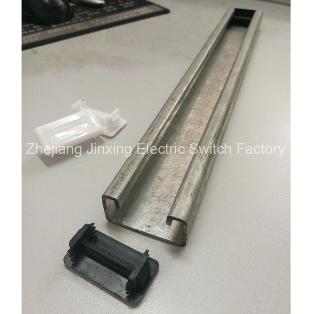 10pcs Rectangle pvc 41*21mm Plastic Blanking End Caps Tube Pipe ...