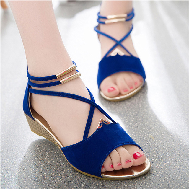 Wedges Sandals Women  Gladiator Sandals  Fashion Women Open Toe Summer Women Shoes Heels Women Casual Sandals Ladies Shoes
