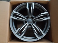 19 inch 5x120 et 35 Gunmetal Machine Face wheel rims W739