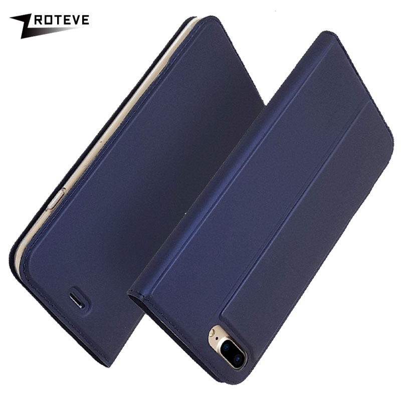 ZROTEVE Cases For Apple iPhone 8 Plus Case Luxury Wallet Leather Cover iPhone8 Flip Stand 7 Coque