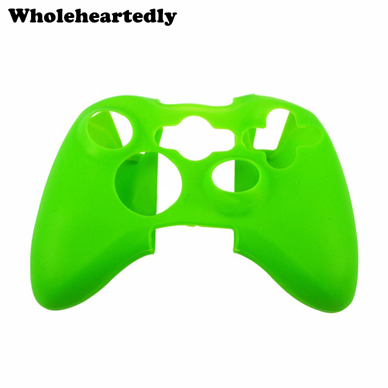 Fashion Silicone Skin Case Protection Sleeve Soft Cover for XBOX 360 Game Controller Top Quality Gift for Boys Game Accessories image