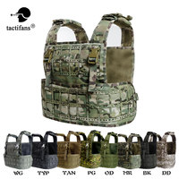 Sinairsoft New Design Lightweight Laser Cut Tactical Vest Plate Carrier Chest Rig AWPC Molle Pals 1000D Nylon Padded Baldric