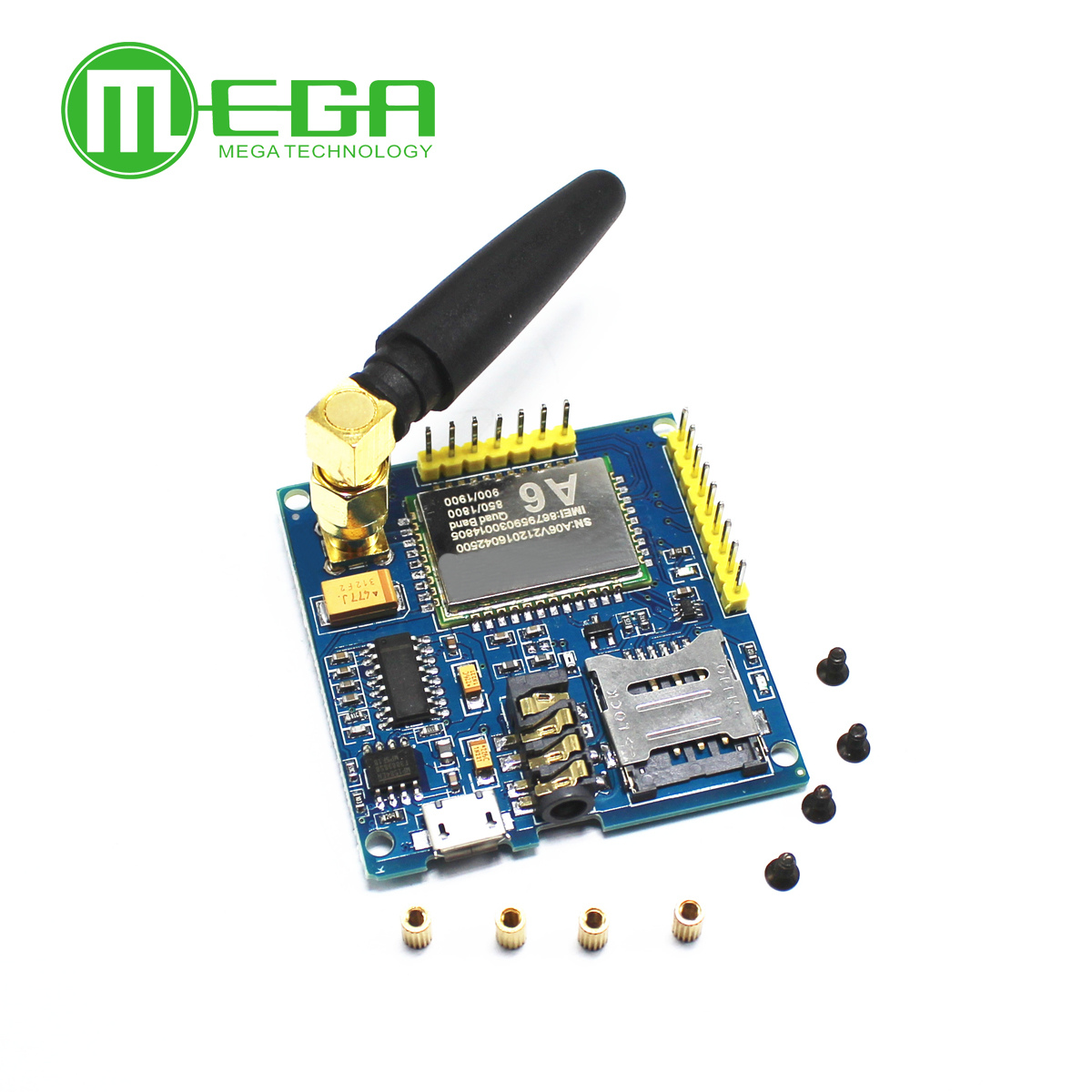 GPRS A6 Module, Text Messages, Development Board GSM GPRS Wireless Data Transmission of Super SIM900AGPRS A6 Module, Text Messages, Development Board GSM GPRS Wireless Data Transmission of Super SIM900A