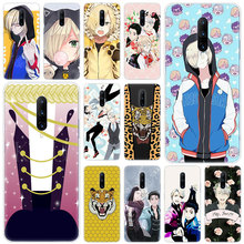 Hot Anime YURI on ICE Soft Silicone Fashion Transparent Case For OnePlus 7 Pro 5G 6 6T 5 5T 3 3T TPU Cover