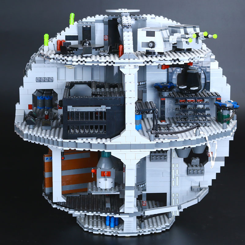 LEPIN 05035 Star Wars Death Star 3804pcs Building Block Bricks Educational Toys Gifts Kits Compatible with 10188 Children Gifts lepin 22001 pirate ship imperial warships model building block briks toys gift 1717pcs compatible legoed 10210