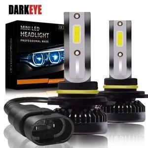 Image 1 - Kit de lampes anti brouillard H7 LED Ultra Mini ampoules de voitures, H8 H9 H11 Led H7 H1, 9005 HB3 9006 HB4, Auto 12V led, le plus récent
