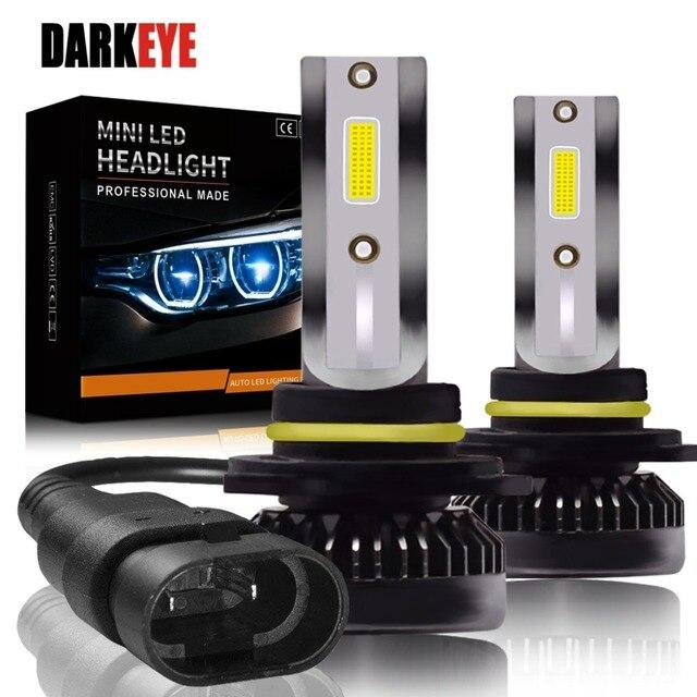 Kit de lampes anti brouillard H7 LED Ultra Mini ampoules de voitures, H8 H9 H11 Led H7 H1, 9005 HB3 9006 HB4, Auto 12V led, le plus récent