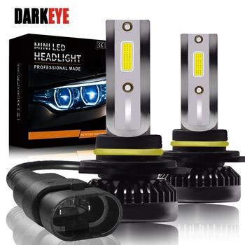 Najnowszy H7 LED Ultra Mini żarówki samochodowe H8 H9 H11 Led H7 H1 lampy czołowe zestaw 9005 HB3 9006 HB4 Auto 12V led światła przeciwmgielne Head light tanie i dobre opinie DARKEYE 12 v Aviation 6063 aluminum Spot Light Sourcing H7 H11 H8 H9 H1 9005 HB3 9006 HB4 9-32V car fog lights Suitable for Nissan sunny Renault Meganne BMW etc