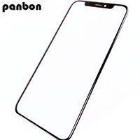 Panbon Alta Calidad LCD Pantalla Frontal Lente de Cristal de piezas de Repuesto para el iphone X Frente de Vidrio Exterior