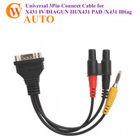 Universal 3Pin Connect Cable for X431 IV DIAGUN III X431 PAD X431 IDiag