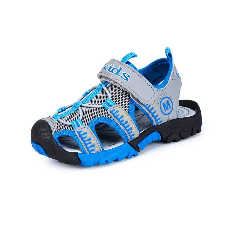 High Quality 2018 Brand Toddler Sandals Casual Summer Big Baby Shoes Beach Water Sandalia Infantil Kids Boys Sandals Children