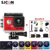 100% Original SJCAM SJ5000 2'' Screen 1080P Diving 30M Waterproof Outdoor Mini Sports Action Mini Camera +Various Accessories