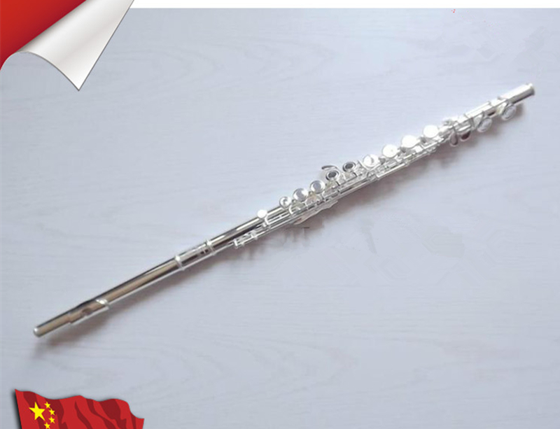 2018 New Hot Flute 211SL musical instrument Flute 16 Closed E-Key High Quality Flute music professional shipping