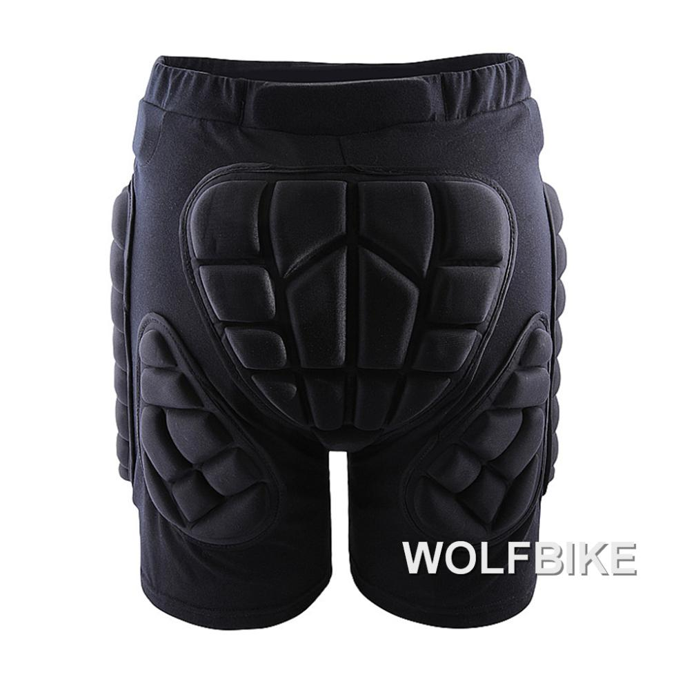 WOSAWE Winter Sports Ski Shorts Protective Hip Butt Bottom Padded Amour for Ski Snow Skate Snowboard Pants Protection
