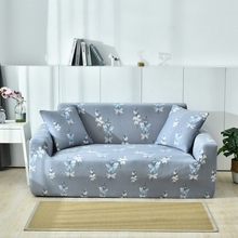 24 colors sofa slip cover sofas covers universal 100% Cotton Printed Classic Floral Sofa Cover One and 2 Pillowcases