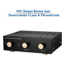 Nobsound HiFi Tek uçlu Sınıf Bir Ön amplifikatör Stereo Ev Ses Preamp Bakın Naim NAC
