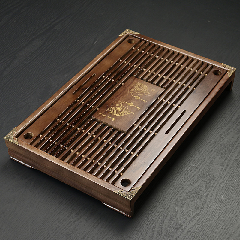 jen čajový kupón - Tea Tray High Quality 43cm*28cm*6cm Chinese Solid Tea Tray, Household Tea Board,Chahai /Tea table