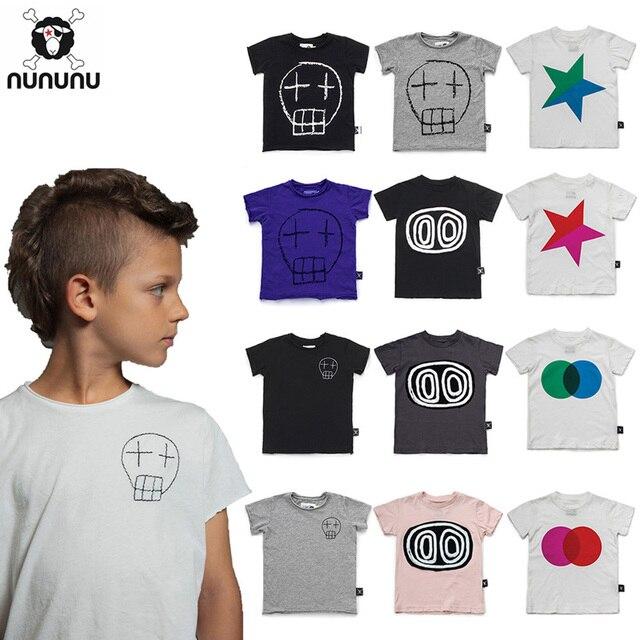 d80ea82c75c04 Nununu Summer 2019 Boys Tops Tshirt Boy t Shirt Enfant Fille Girl T Shirt  Children Short Sleeve Cloth Pre Apr.10th Cicishop. 14 orders
