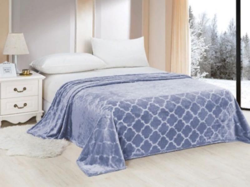 Plaid Euro АльВиТек, Venice, 009, 200*220 cm bed linen ethel s euro cacti 200 × 217 cm 220x240 cm 70x70 cm 2 pcs 100% chl calico 125g m²
