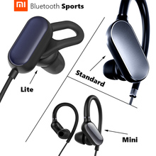 Orijinal Xiao mi mi spor kulaklık Lite/standart/mi ni kablosuz bluetooth 4.1 su geçirmez IPX4 anti damla uzun zaman oynarken