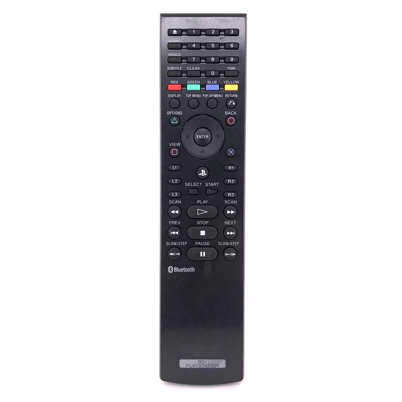 used original cechzr1u for sony ps3 bd remote control keyboard for playstation 3 blu ray dvd. Black Bedroom Furniture Sets. Home Design Ideas