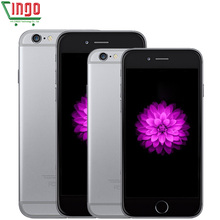 Apple iPhone 6/iPhone 6 plus IOS Dual Core Cámara 8.0MP 1 GB RAM 16/64/128 GB ROM de Huellas Digitales 4G LTE Utiliza iphone6/iphone 6 plus