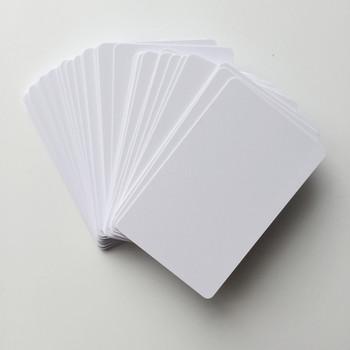 50 sztuk błyszcząca karta pcv do drukarek atramentowych do Epson L800 L801 L805 L810 L850 A50 T50 T60 P50 R260 R265 R270 R280 R285 R290 r330 R38 tanie i dobre opinie IDTRAY Inkjet PVC Card 85 6*54mm standard credit card size 0 76~0 84mm Inkjet printable for Epson Canon inkjet printers