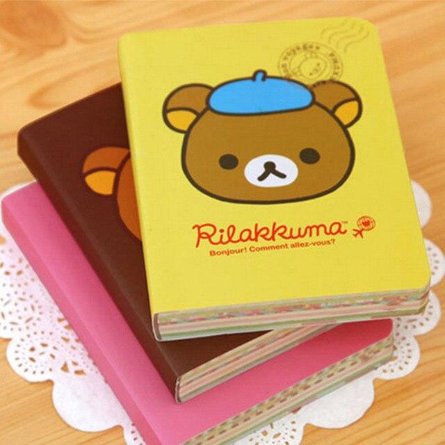 Kawaii Cartoon Bear Stationery Cute Kraft 150 Colored Pages Paper ...