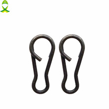 JSM 50pcs/lot Carp Fishing Snaps Connector Carp Rigs Speed Links Single Hook Snap Carp Fishing hooks rolling swivels tackle