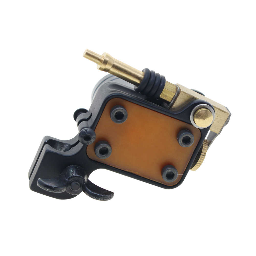 Rotary Tattoo Machine Japanese Motor Aluminium Alloy Frame(black)