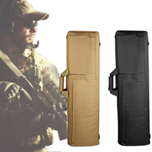 85cm 100cm Tactical Gun Bag Shooting Hunting Rifle Carry Square Heavy Duty Sport With Cushion Pads