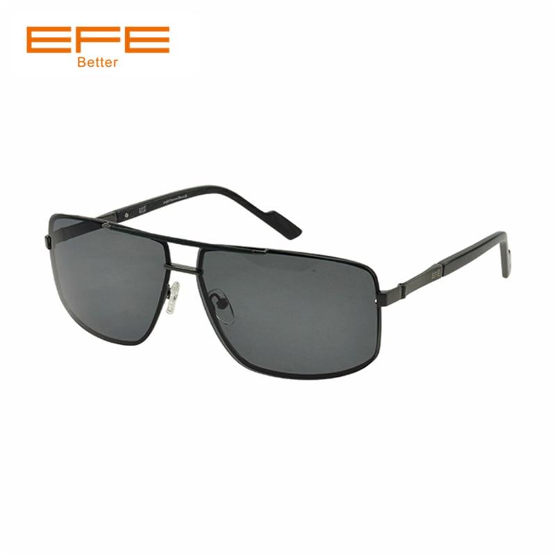 EFE de la lente polarizada de los hombres gafas de sol Vintage de diseñador de la marca de Metal Marco de conducción de los hombres Glassses gafas Sonnenbrille