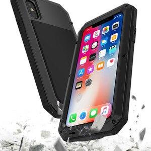 Image 4 - Funda de teléfono de aluminio y Metal resistente a golpes para IPhone, funda protectora resistente a golpes para teléfono IPhone 12 Mini 11 Pro XR XS MAX 6S 7 8 Plus X 5S