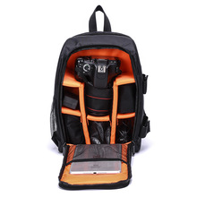 New Outdoor Small DSLR Camera Bag Video Backpack Water-resistant Multi-functional Breathable Bags